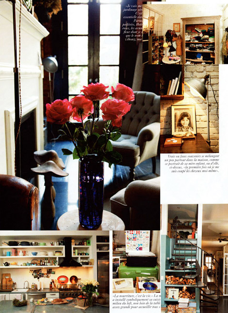 traveling kitchen macy's appliances helena christensen's home - stylefrizz