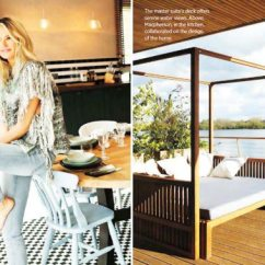 Custom Made Sofas Colored Sofa Elle Macpherson's Home In Cotswolds - Stylefrizz
