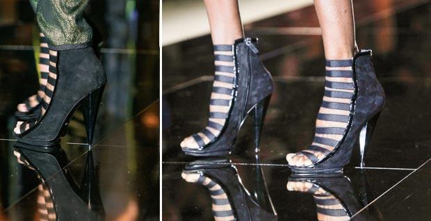 Suede Sandals Gucci Spring 2014