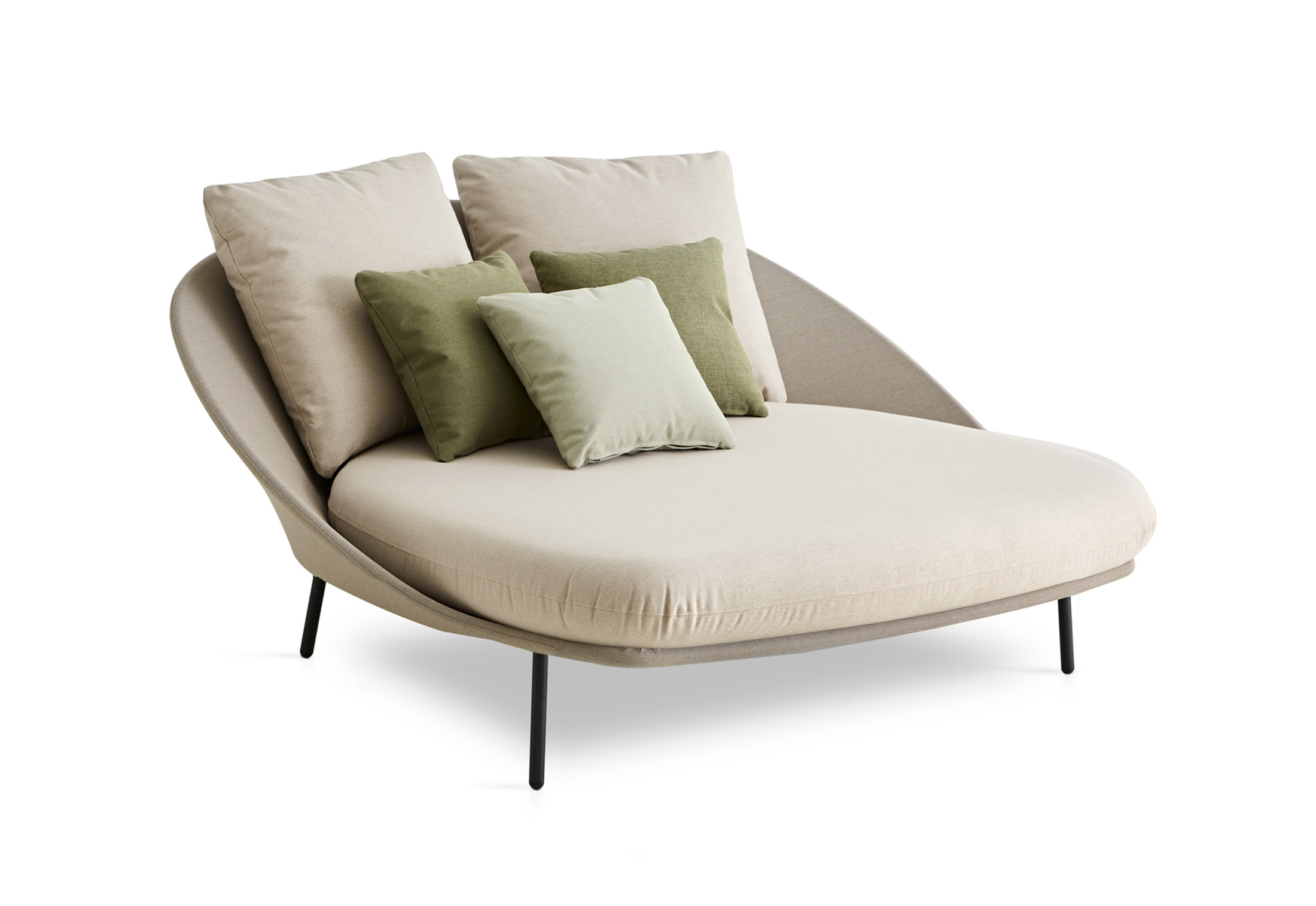 twins double chaise longue c173 by