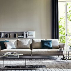 Chelsea Sofa St Albans Brown Leather Electric D 355 1 By Molteni And C Stylepark