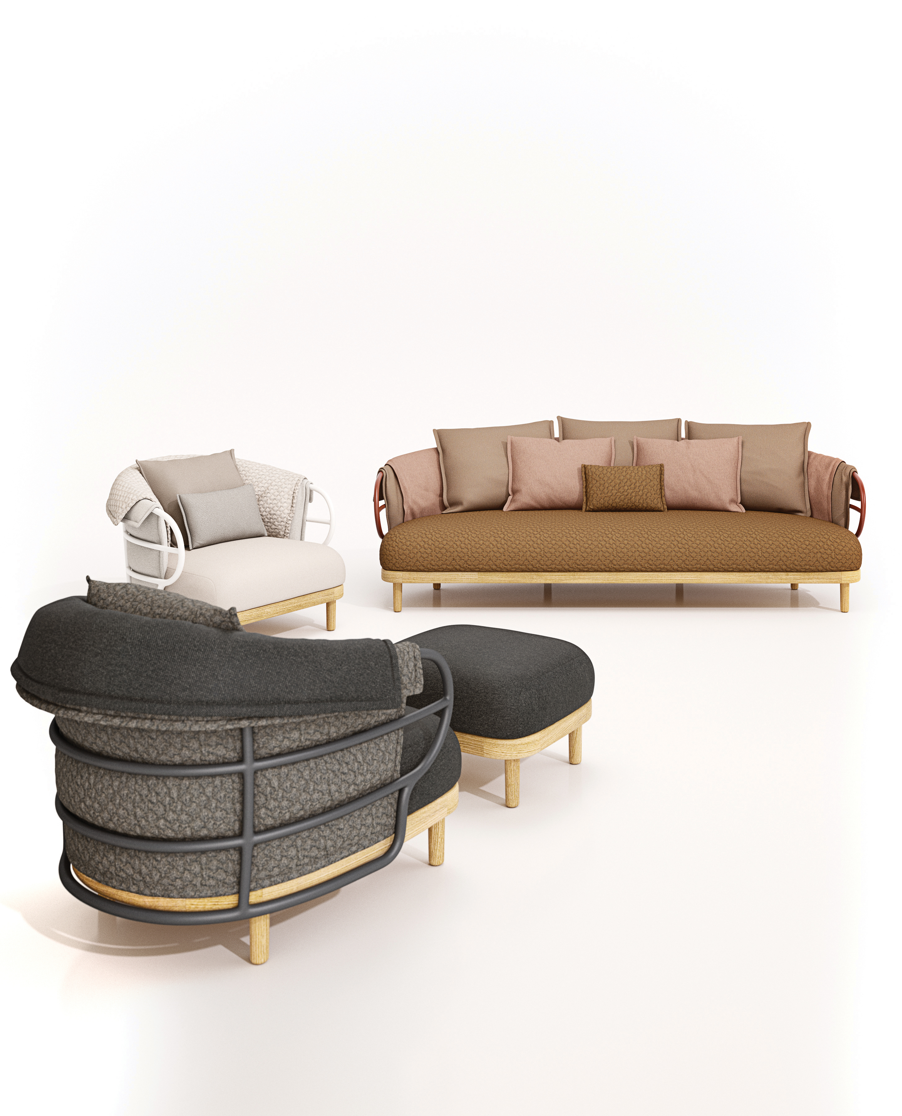 dune sofa designer covers online india by gloster furniture stylepark
