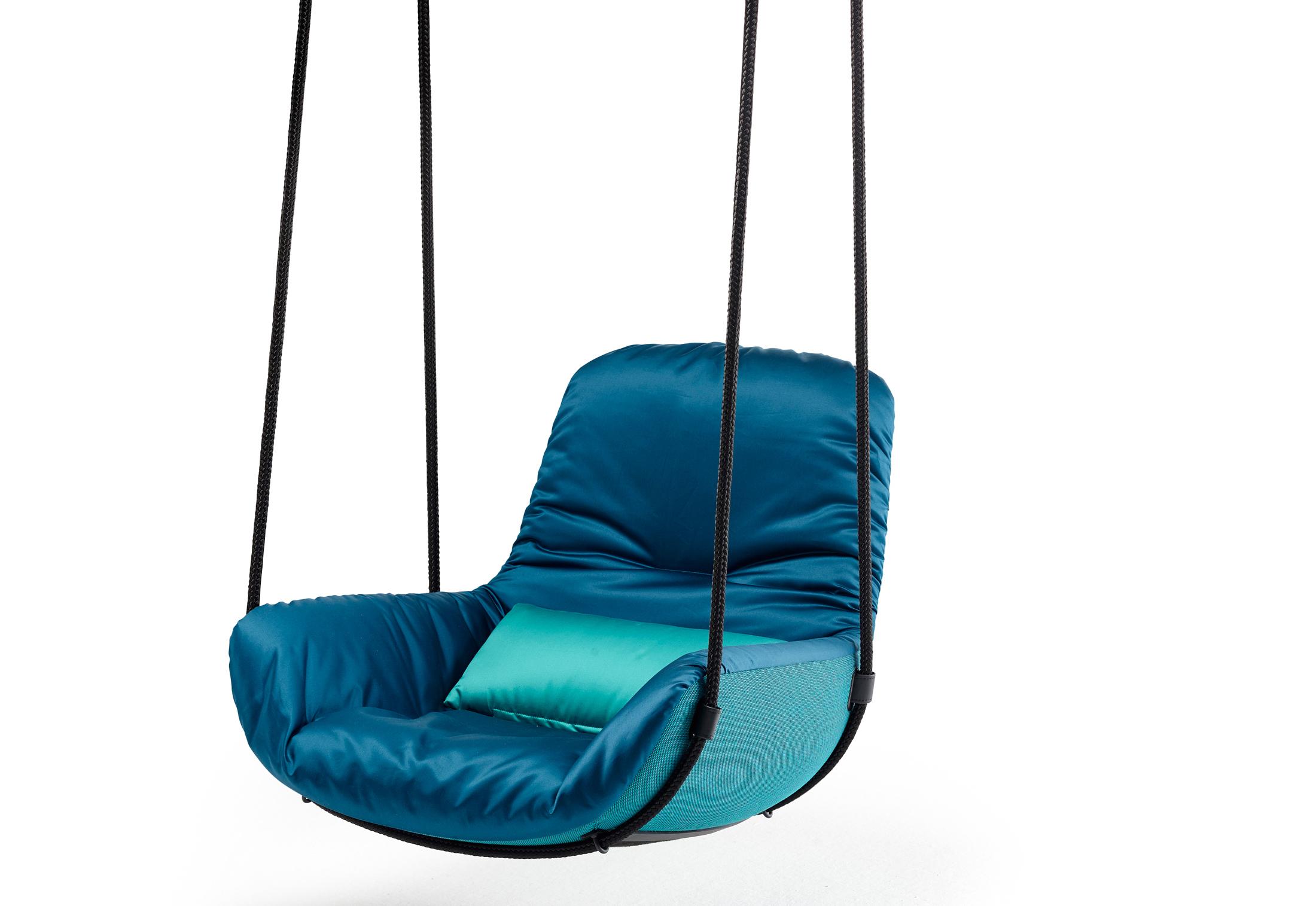 swing chair with stand kuwait lounge cushions canada leya seat by freifrau stylepark