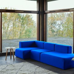 Hay Mags Soft Sofa Bank Sectional With Fold Down Table By Stylepark