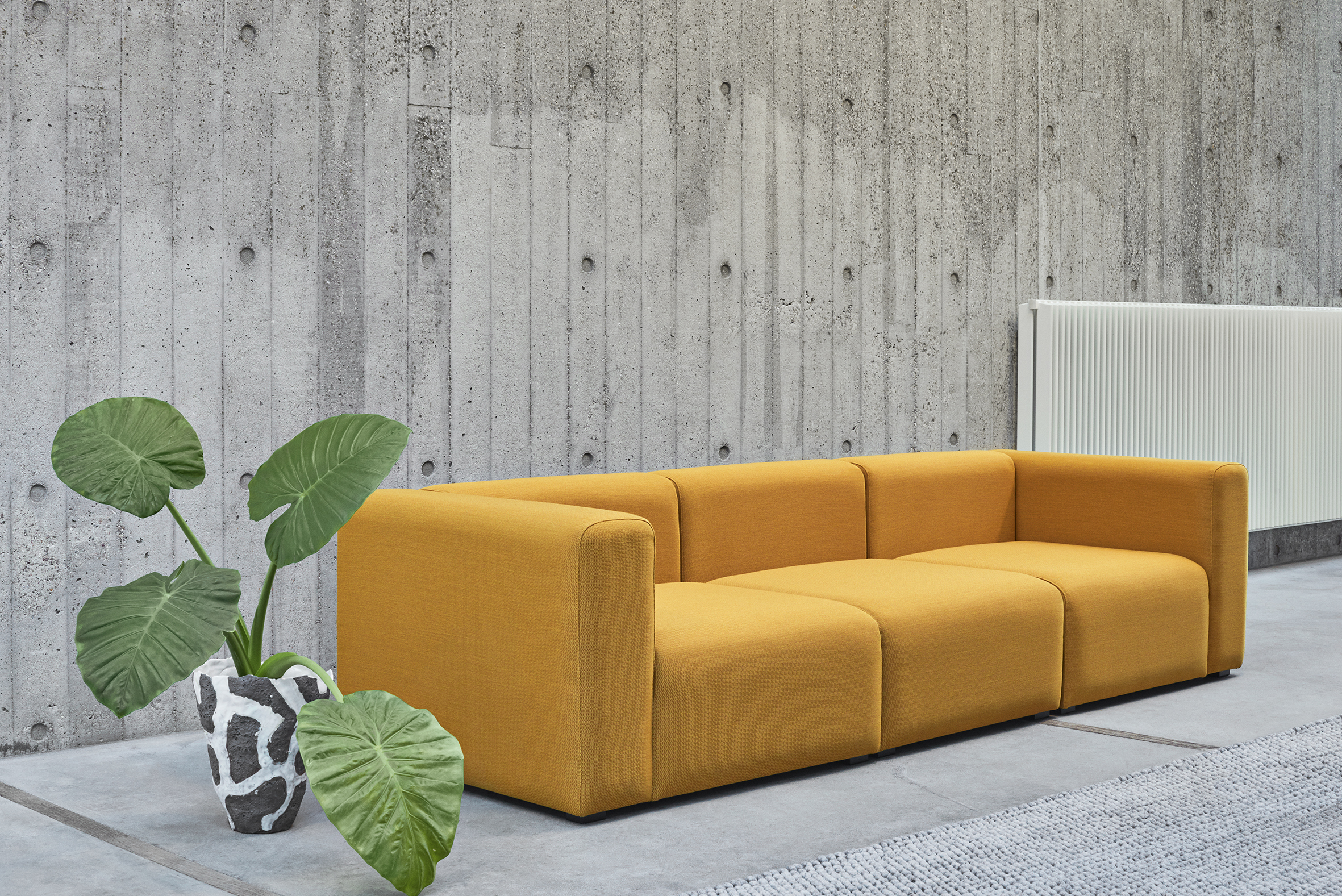 hay mags soft sofa bank come bed by stylepark