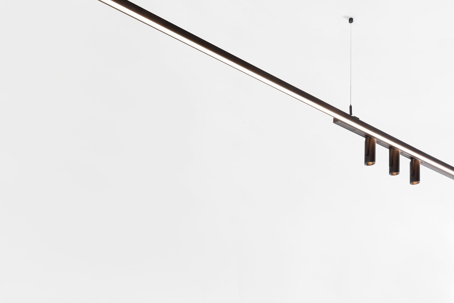 Pista Twin Brackets By Modular Lighting Instruments