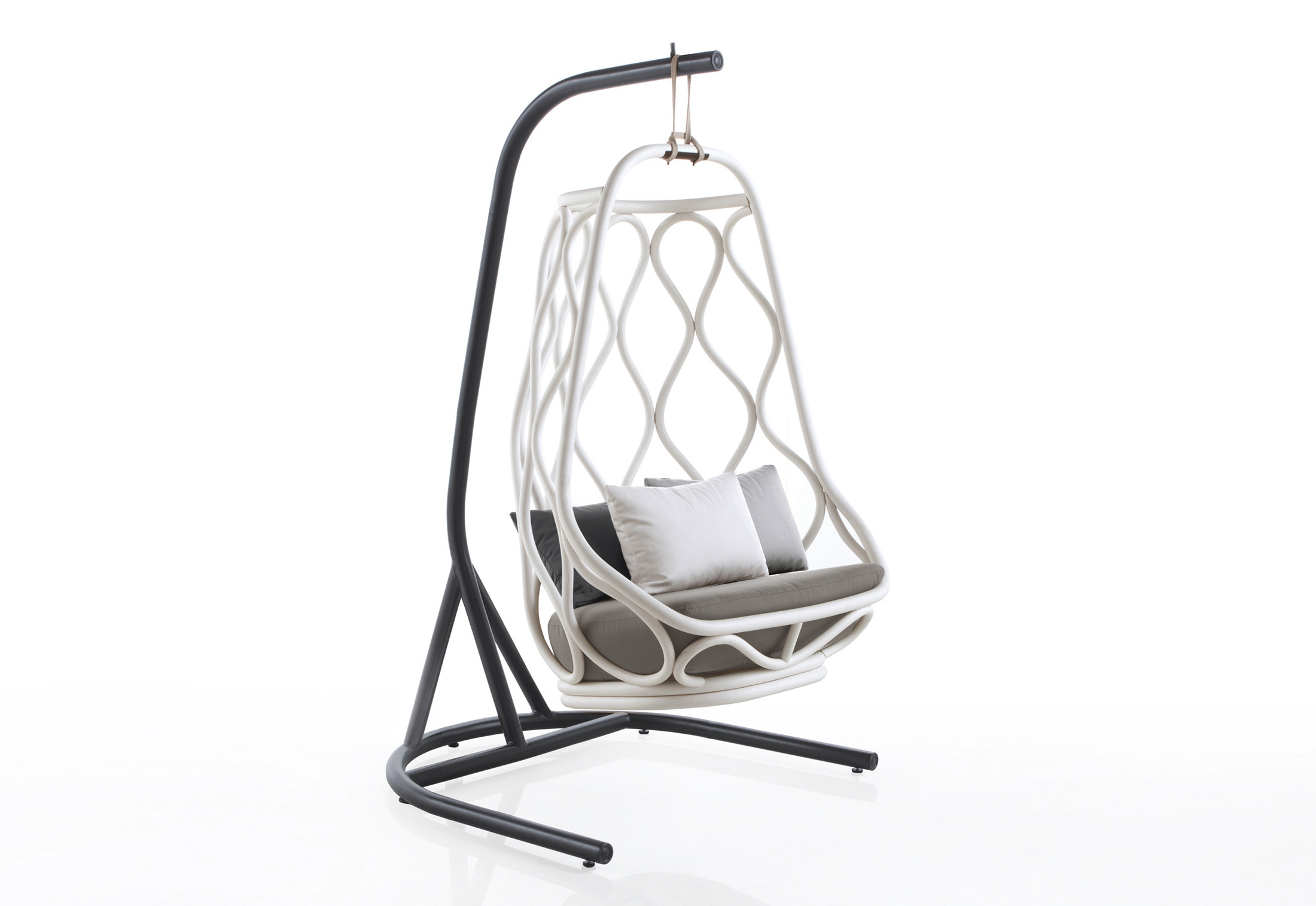 nautica indoor swing chair with base