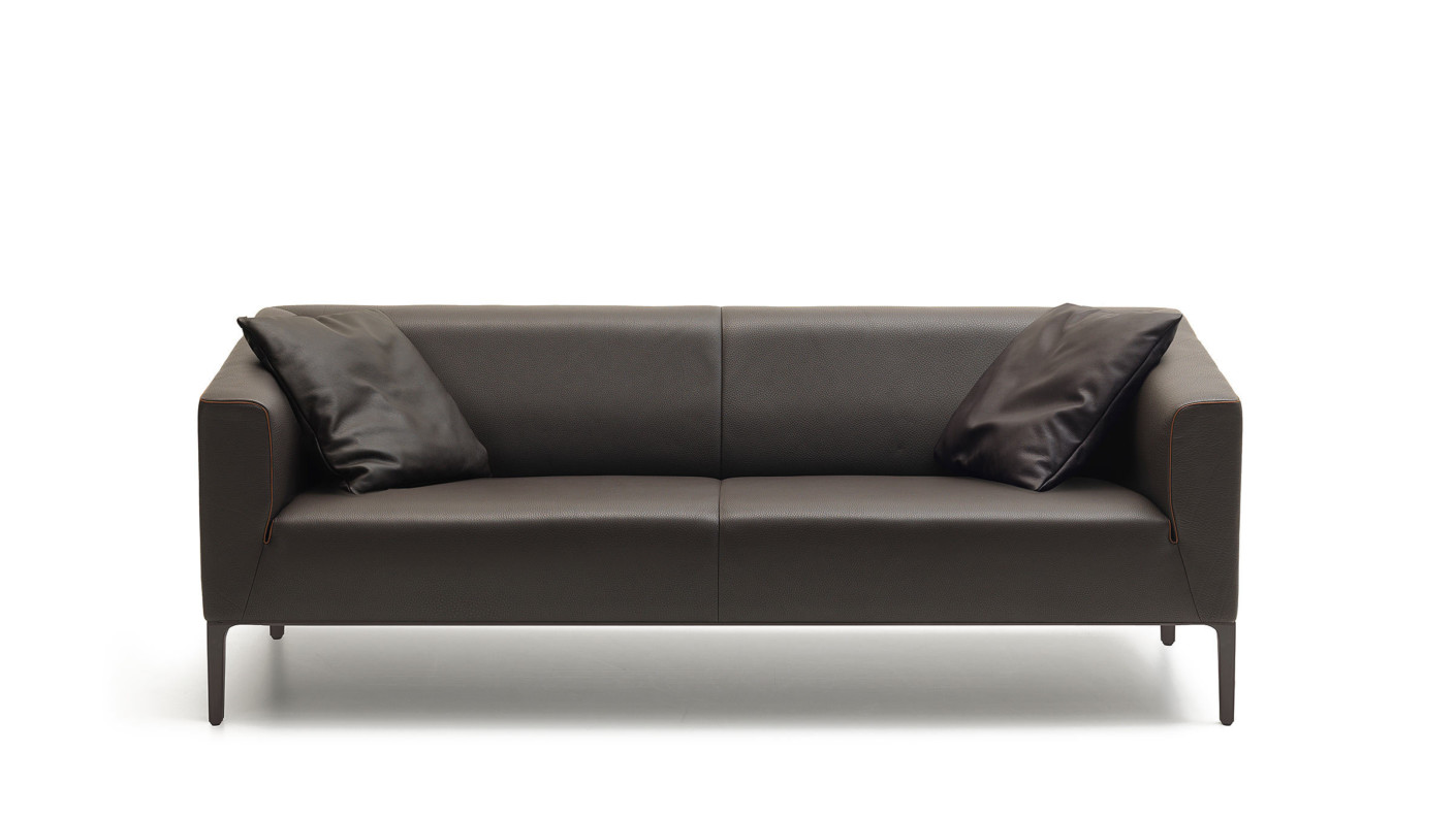 tindall 96 leather sofa lillian august review ds 161 by de sede stylepark