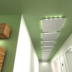 Kitchen Ceiling Lights Furniture Helix Floating Panel By Lindner Group | Stylepark