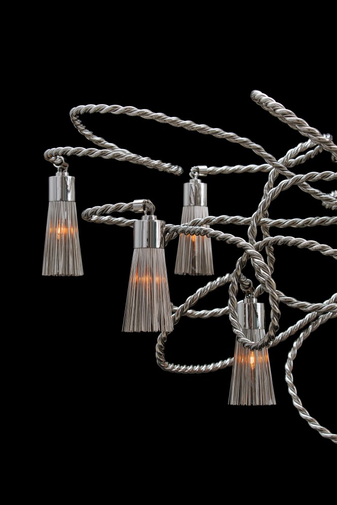 Sultans Of Swing Chandelier Round