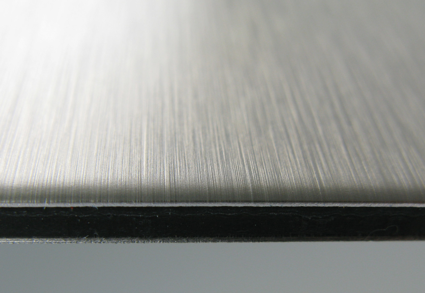 DIBOND butlerfinish stainless steel by 3A Composites