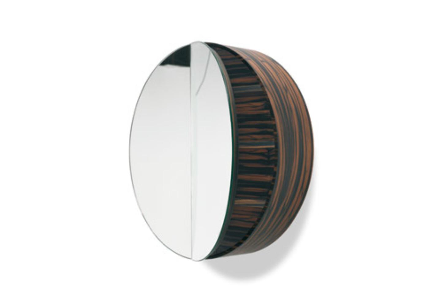 Badspiegel Mit Beleuchtung Und Ablage  Badezimmer Spiegelschrank Rund