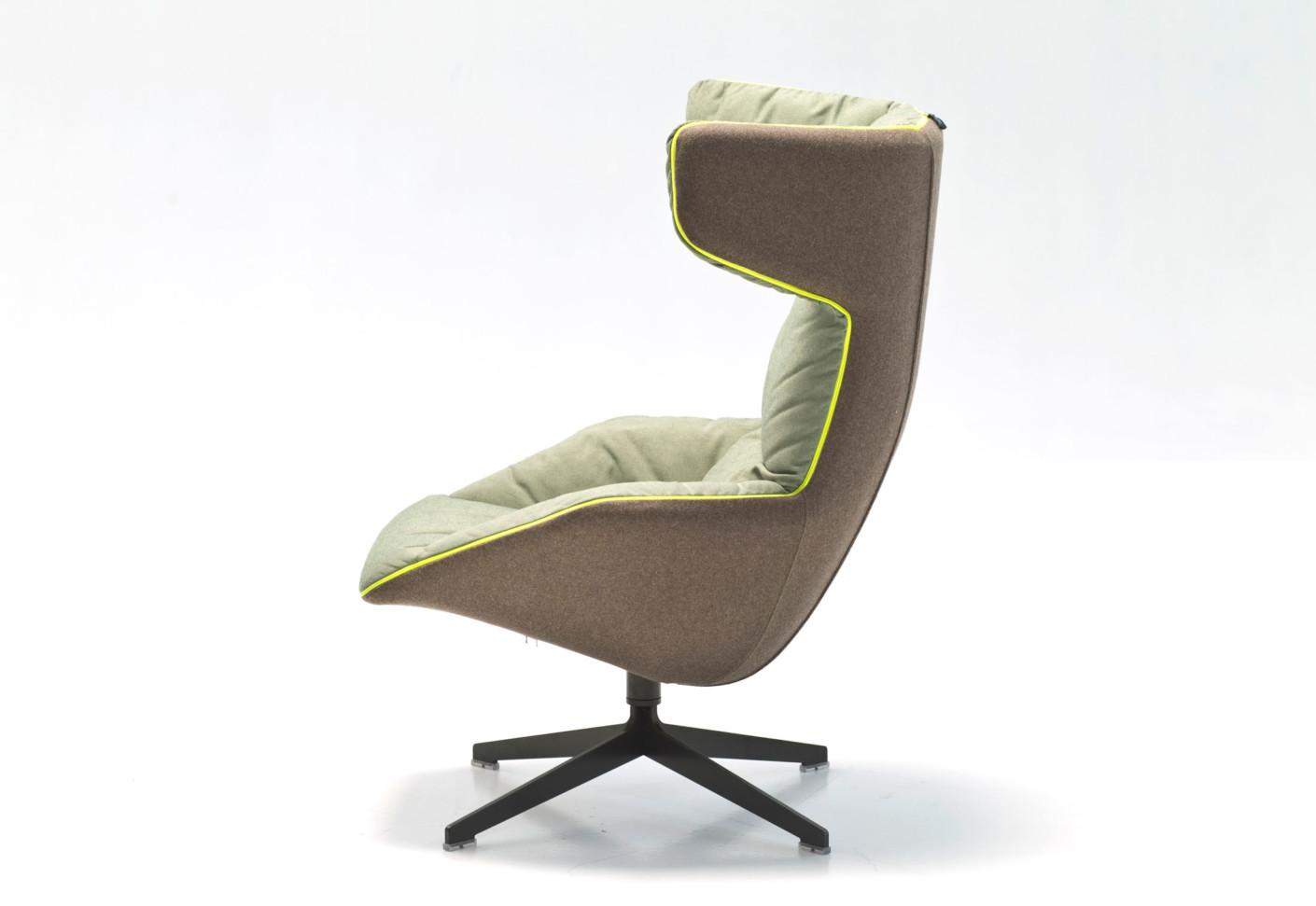 Take A Soft Line For A Walk Swivel Armchair By Moroso STYLEPARK