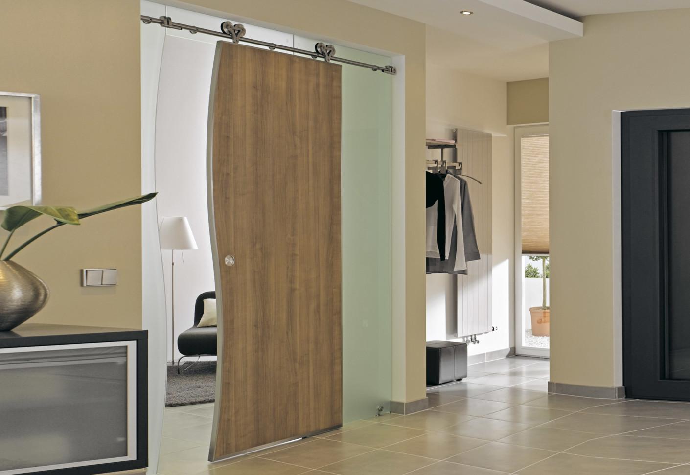 Sliding door with MWE stystem Duplex S by Bartels  STYLEPARK