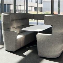 Grey Material Office Chair Corduroy Bean Bag Shark Tank Parcs American Diner By Bene   Stylepark