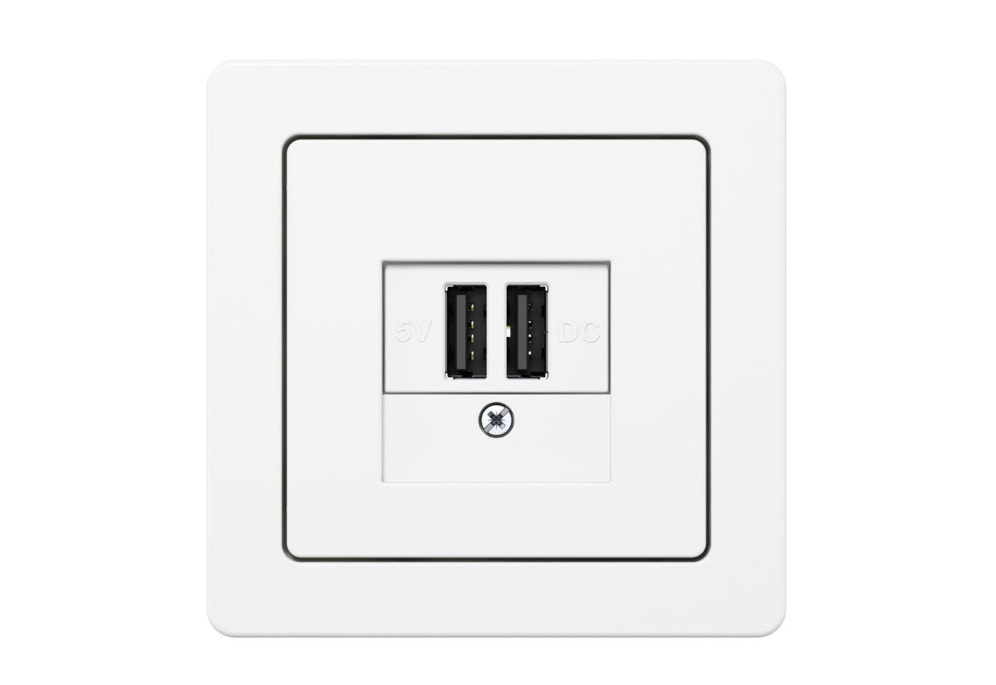 K 1 Usb Charging Socket By Berker