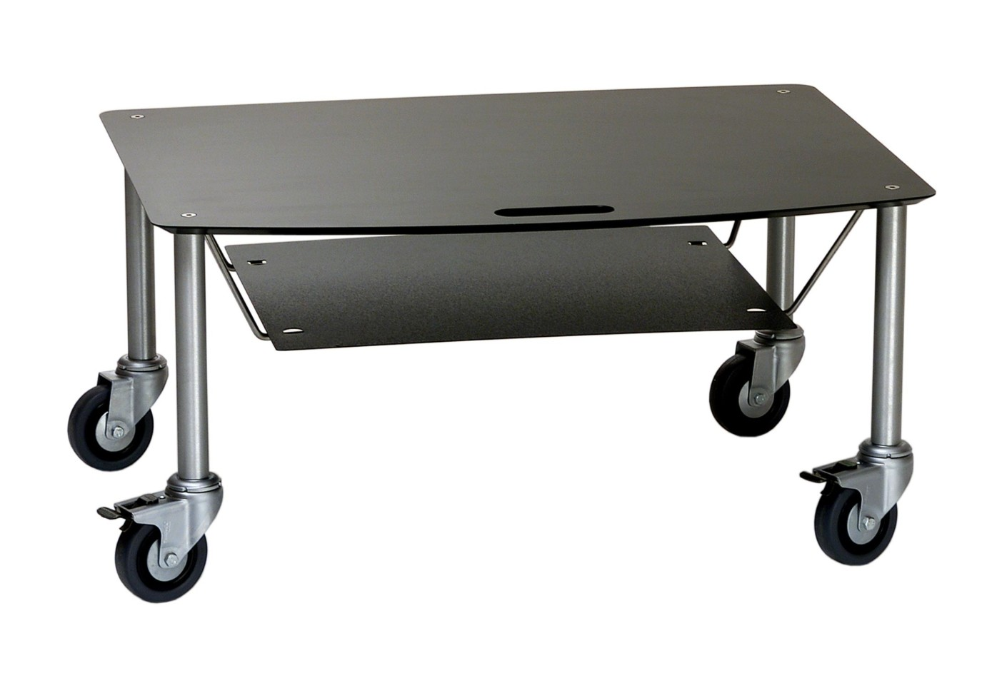 Base TV Trolley With DVD Tray By Cascando STYLEPARK