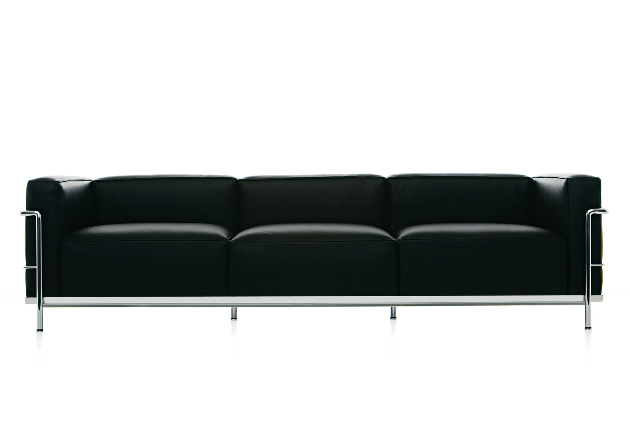 lc3 sofa modular sofas leather 3 seater by cassina stylepark