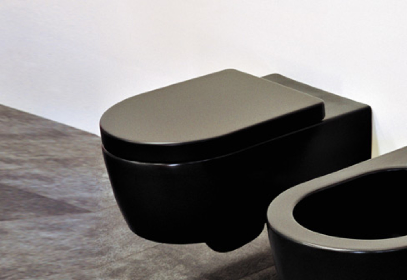 Link WC black by Ceramica Flaminia  STYLEPARK