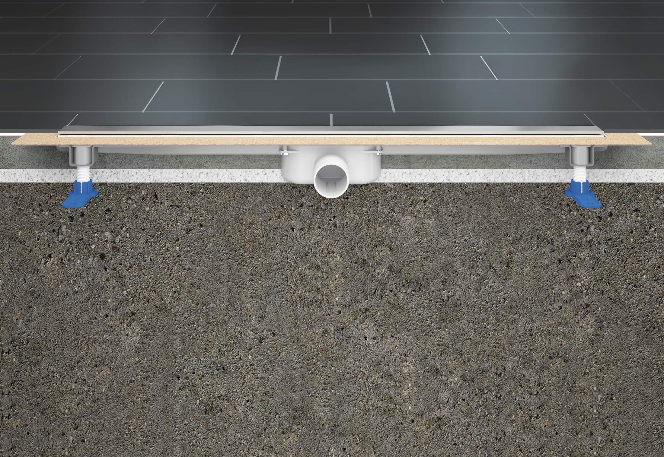 Channel Drain Series CeraLine By Dallmer STYLEPARK