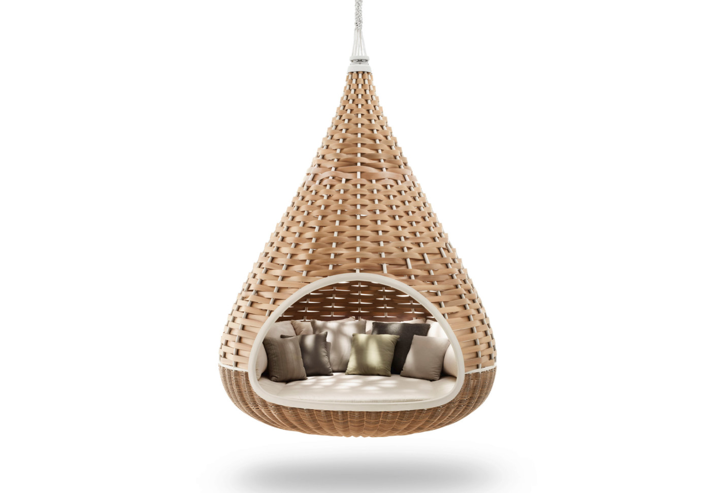 cool hanging chairs wooden chair with arms for toddler nestrest lounger by dedon stylepark
