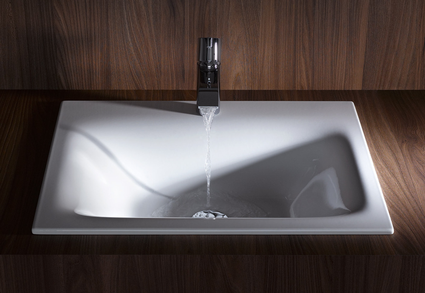 kitchen design india pictures wire cart bettelux built-in washbasin by bette | stylepark