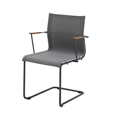 Stackable Chairs With Arms Movie Theater Chair Sway Stacking By Gloster Furniture Stylepark
