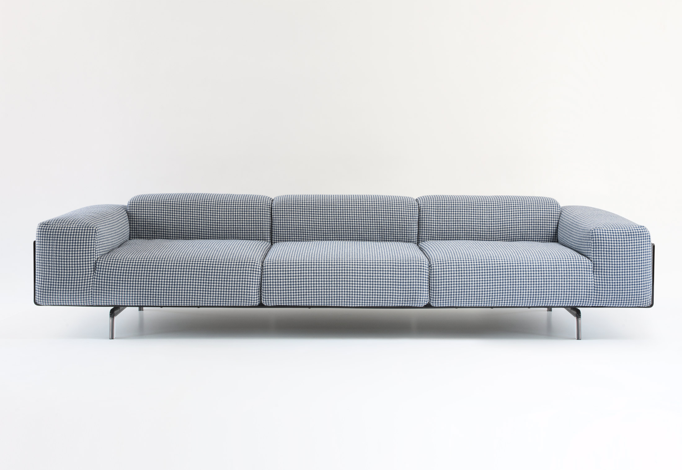 kartell sofa largo tyson leather by stylepark
