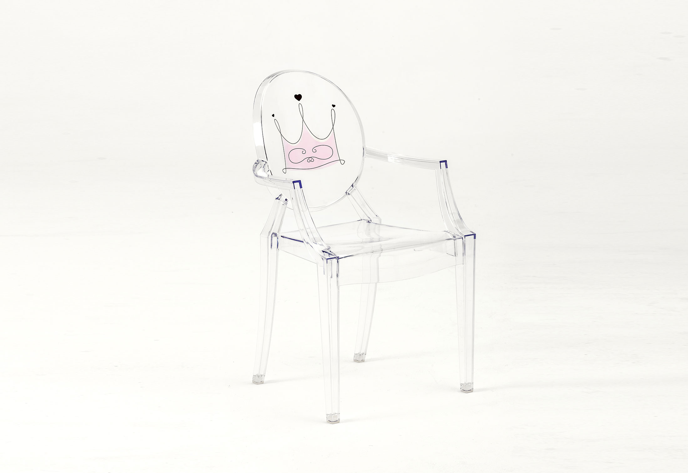 kids ghost chair canopy walmart lou by kartell stylepark