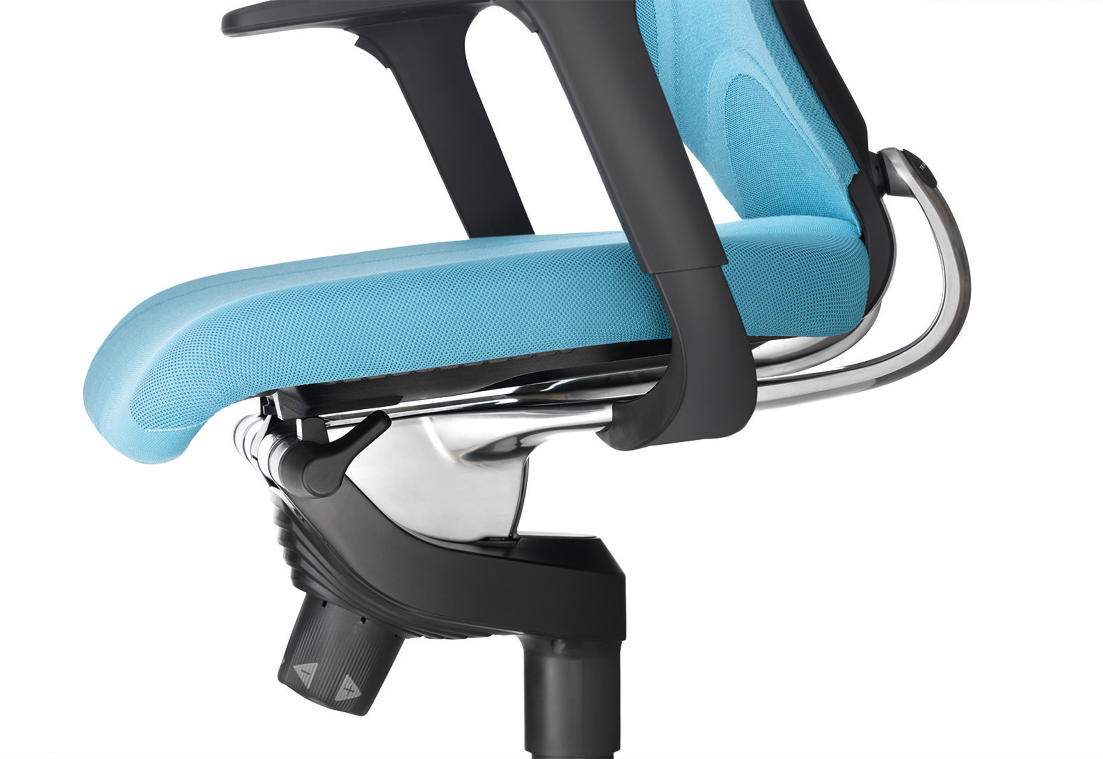 swivel chair not staying up desk locking wheels in 3d 184 7 with formstrick by wilkhahn