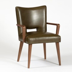 Dining Chair With Armrest Rail Beadboard Schwadron Armrests By Wohnkultur 66