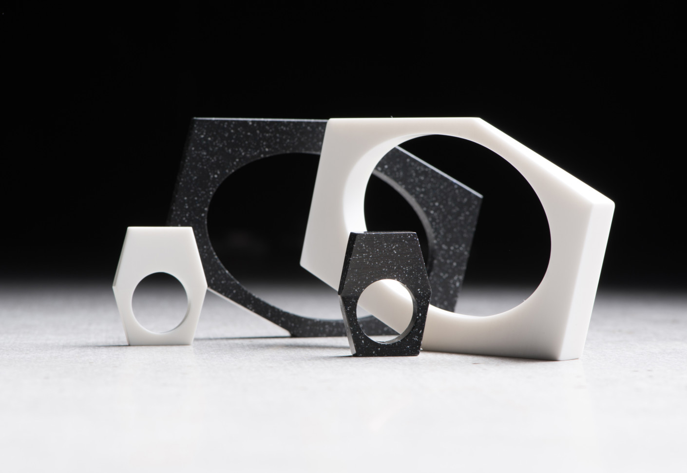 DuPont Corian jewellery from 139 by DuPont Corian