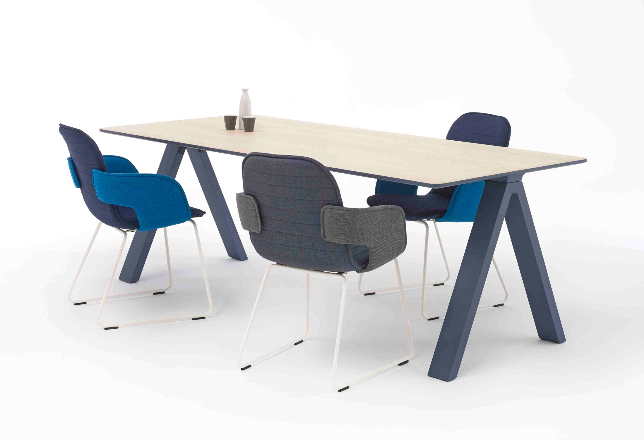 Flux Chair Flux Chair With Skids By Arco Stylepark