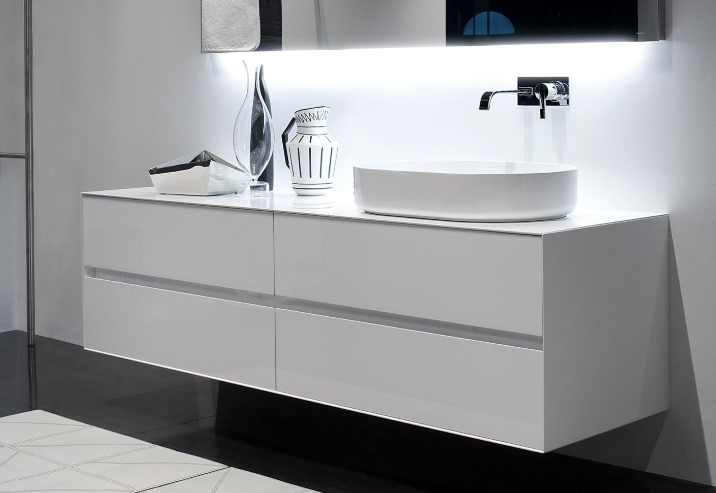 Panta Rei vanity unit by Antonio Lupi  STYLEPARK