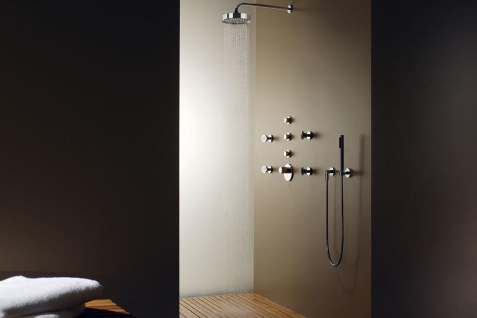 Meta02 Shower with wall fixing by Dornbracht  STYLEPARK