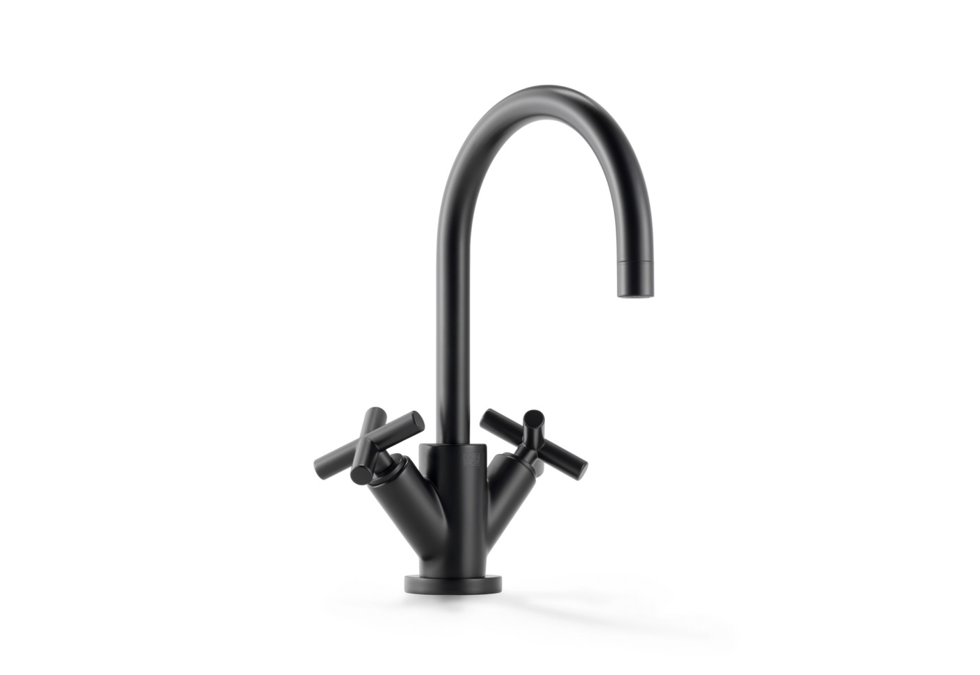 dornbracht faucet kitchen pink appliances tara black single-hole basin mixer by | stylepark