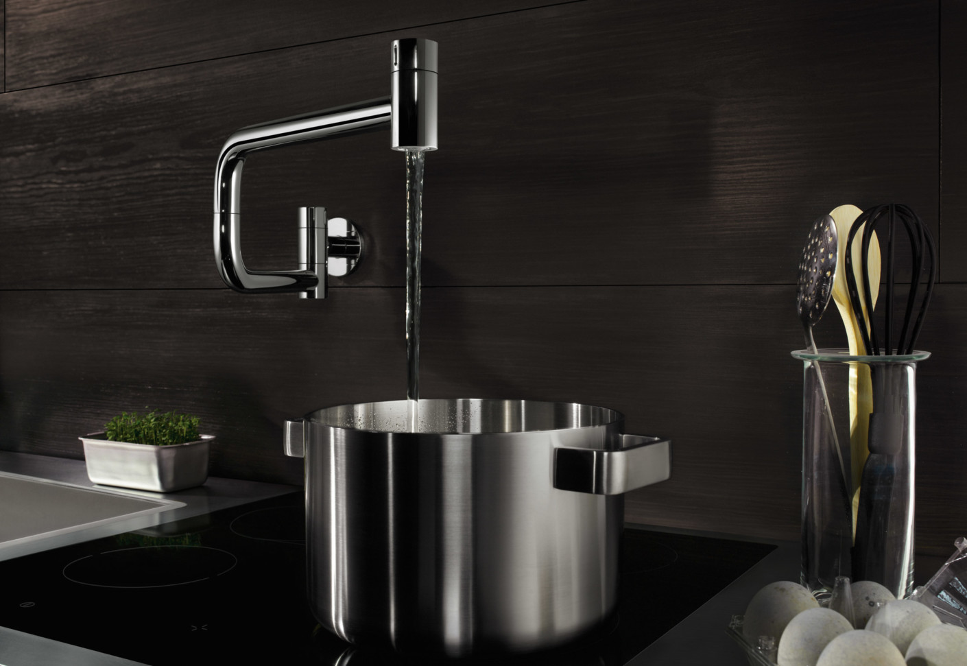 Water Zones Tara Ultra Pot Filler by Dornbracht  STYLEPARK