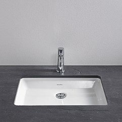Single Kitchen Faucet Cabinets Wood 2nd Floor Vanity Basin By Duravit | Stylepark
