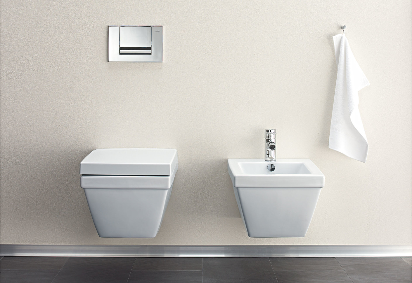 2nd floor Wall WC by Duravit  STYLEPARK