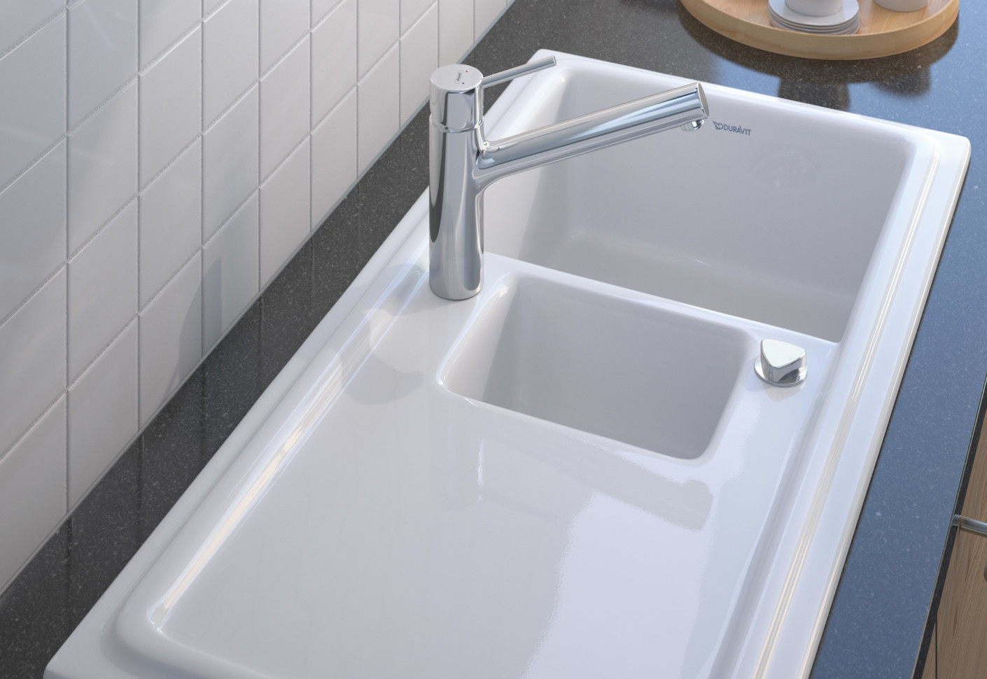 kitchen sink manufacturers cabinets tampa cassia by duravit stylepark
