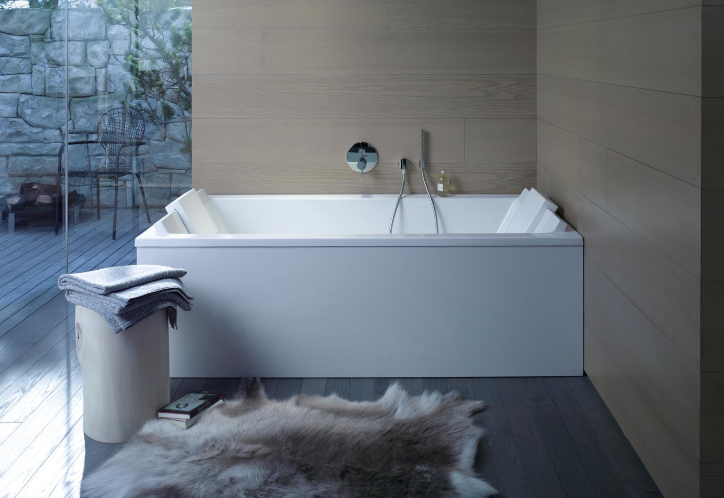 Starck 3 bathtub by Duravit  STYLEPARK