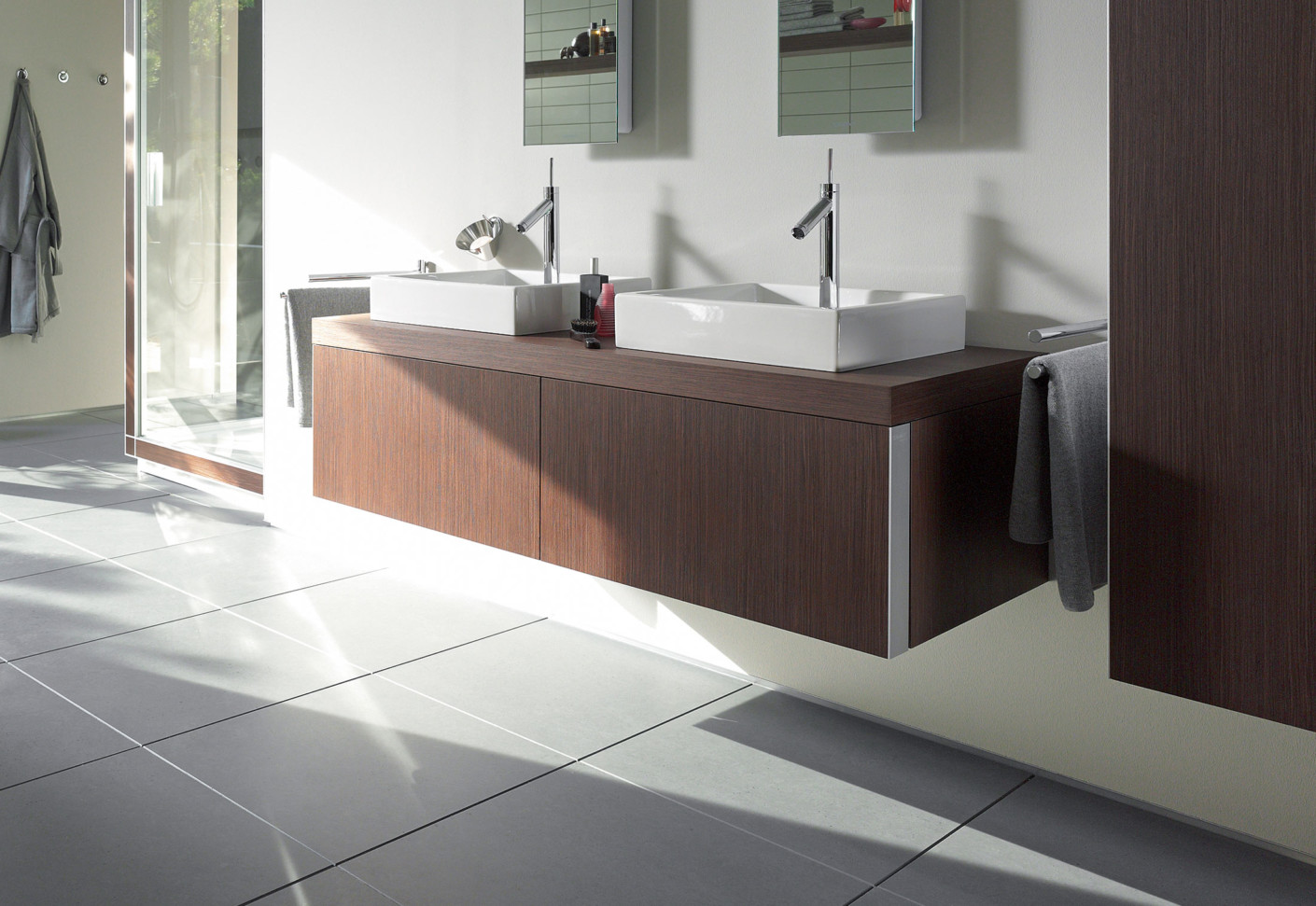 german kitchen cabinets remodel on a budget starck washbasin double vanity unit by duravit | stylepark