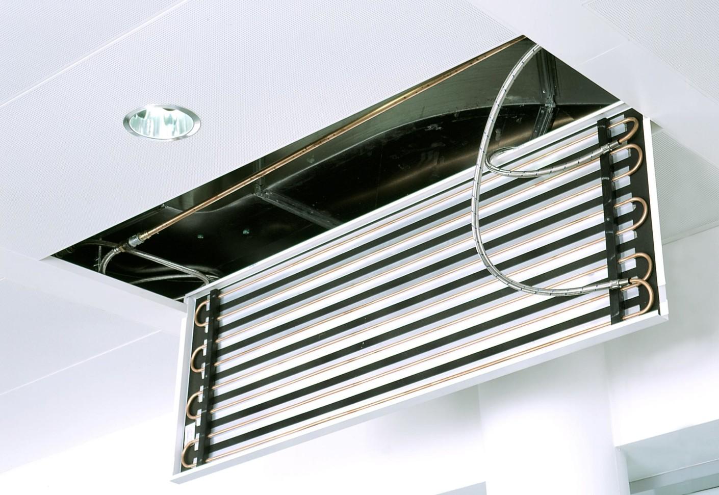 Chilled ceiling durCOOLTEC by durlum  STYLEPARK
