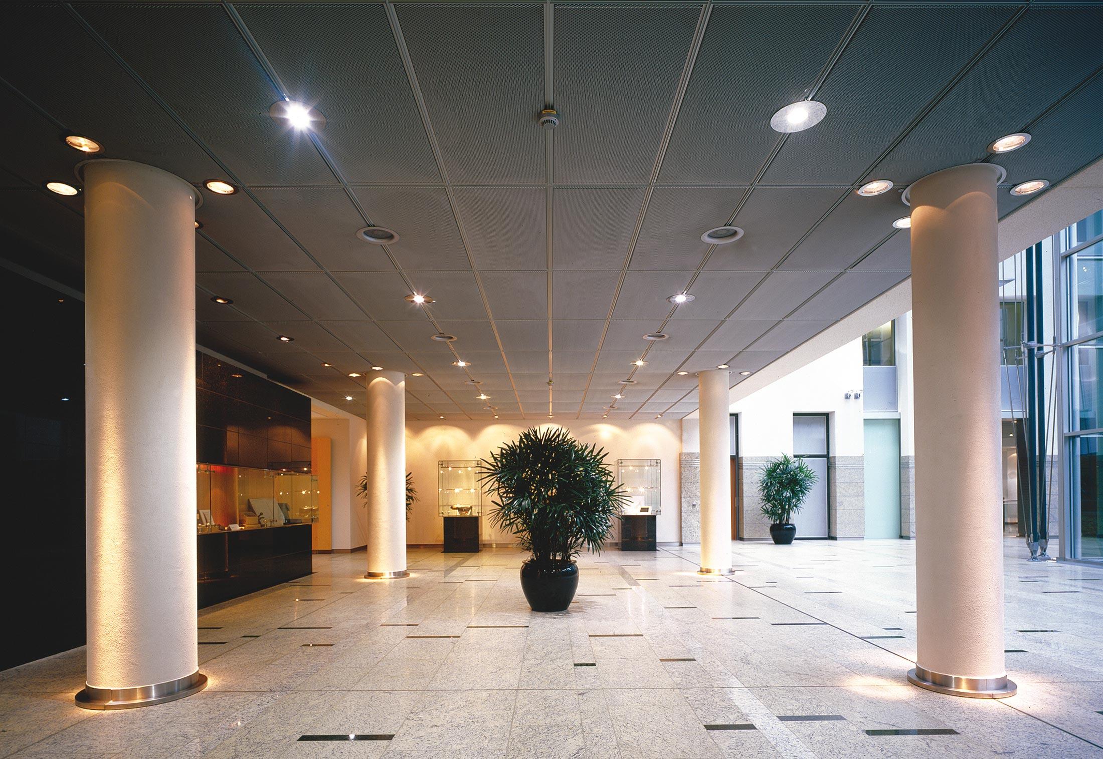 Expanded metal ceilings by durlum  STYLEPARK