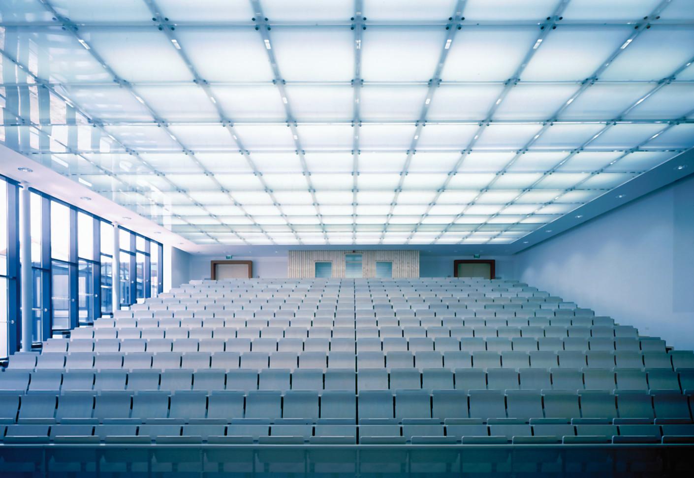 Translucent glass ceiling OPEN SKY by durlum  STYLEPARK