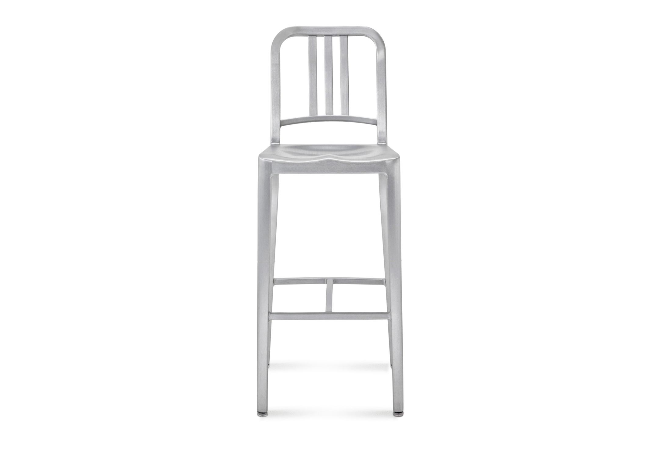 Navy Bar stool by Emeco  STYLEPARK