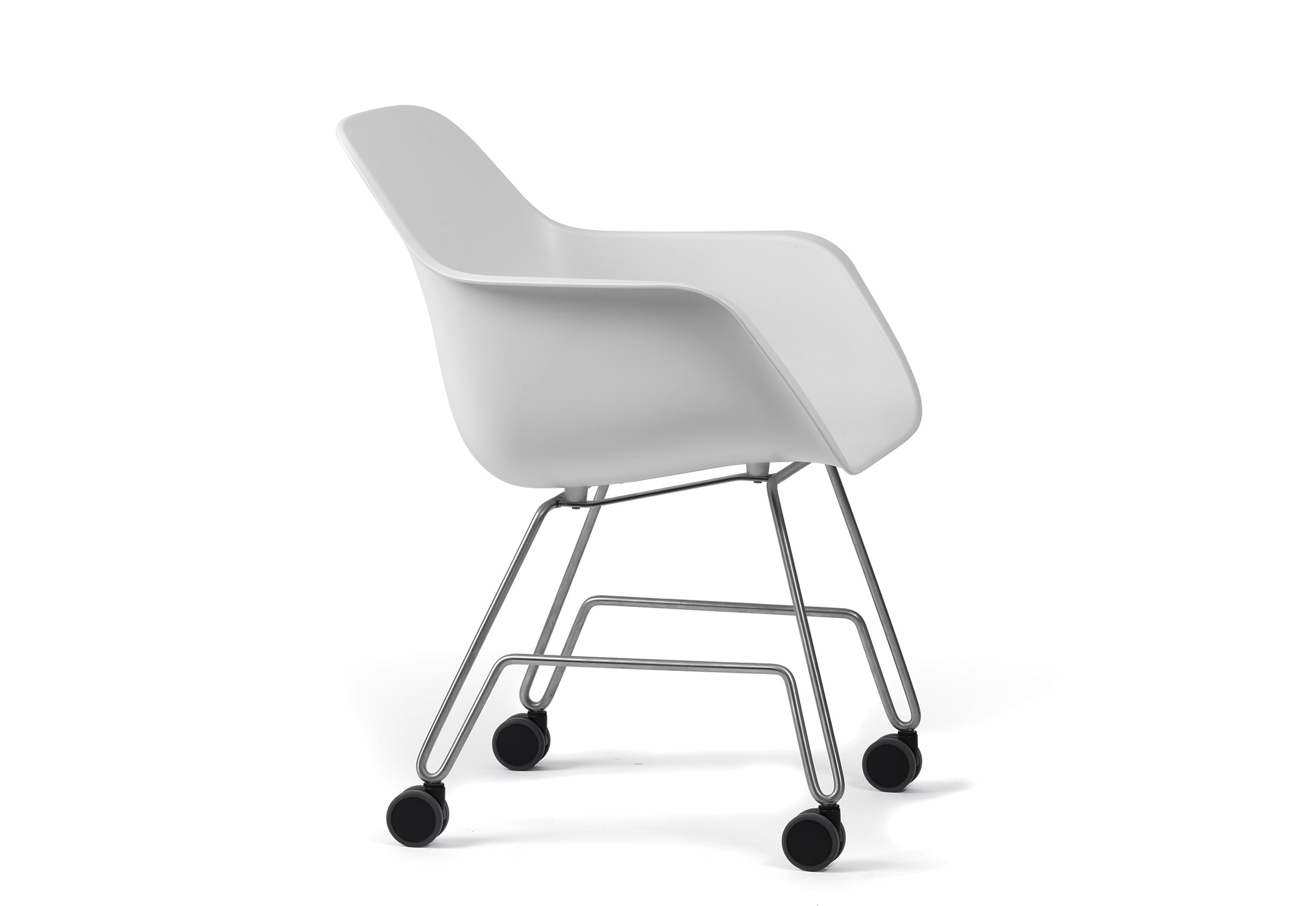 White Rolling Chair Captains Rolling Chair By Extremis Stylepark