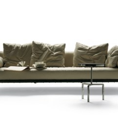 Metal Frame Outdoor Kitchen Champagne Bronze Faucet Happy Hour Sofa By Flexform | Stylepark