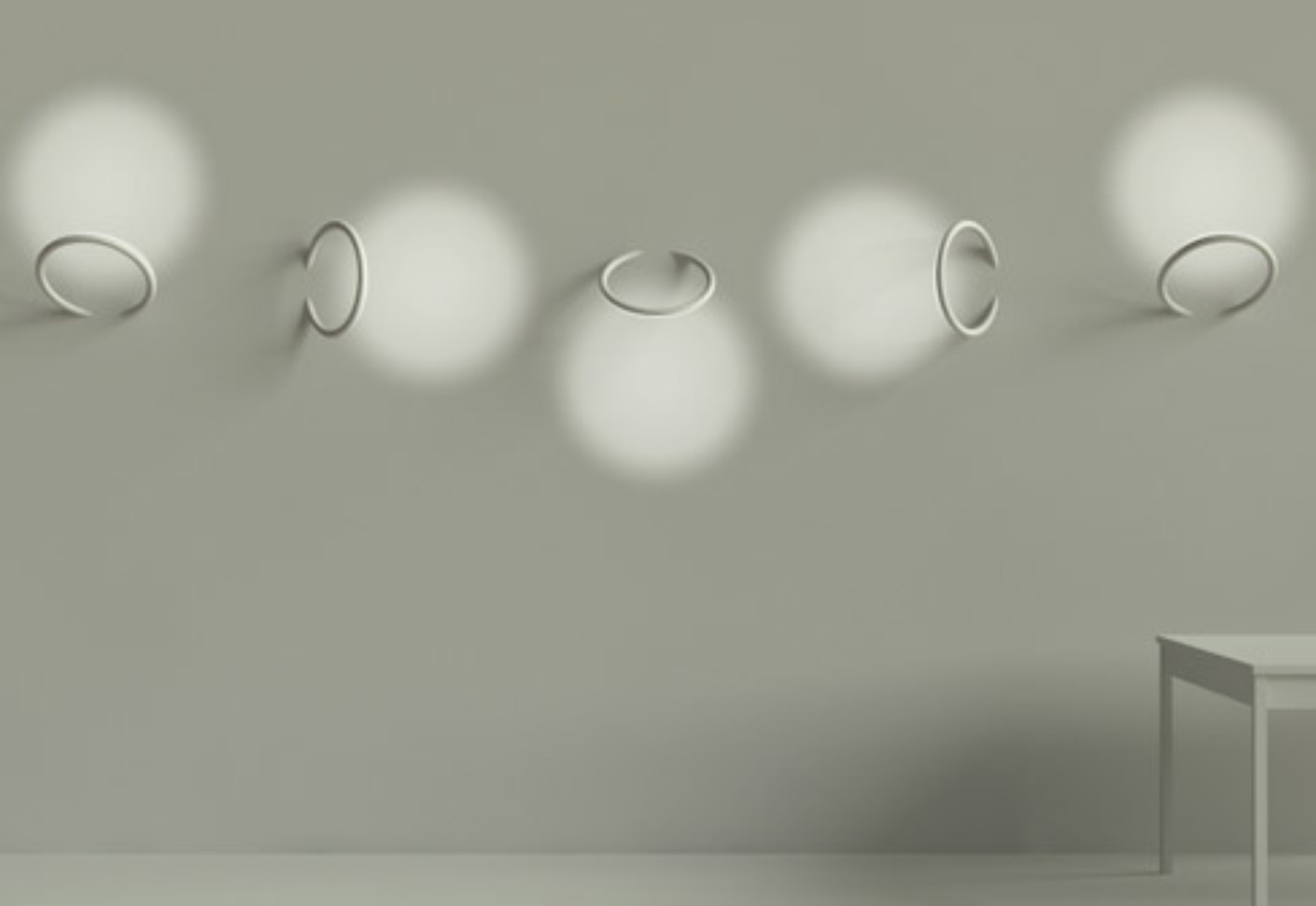 Wall Piercing soft architecture by Flos Architectural