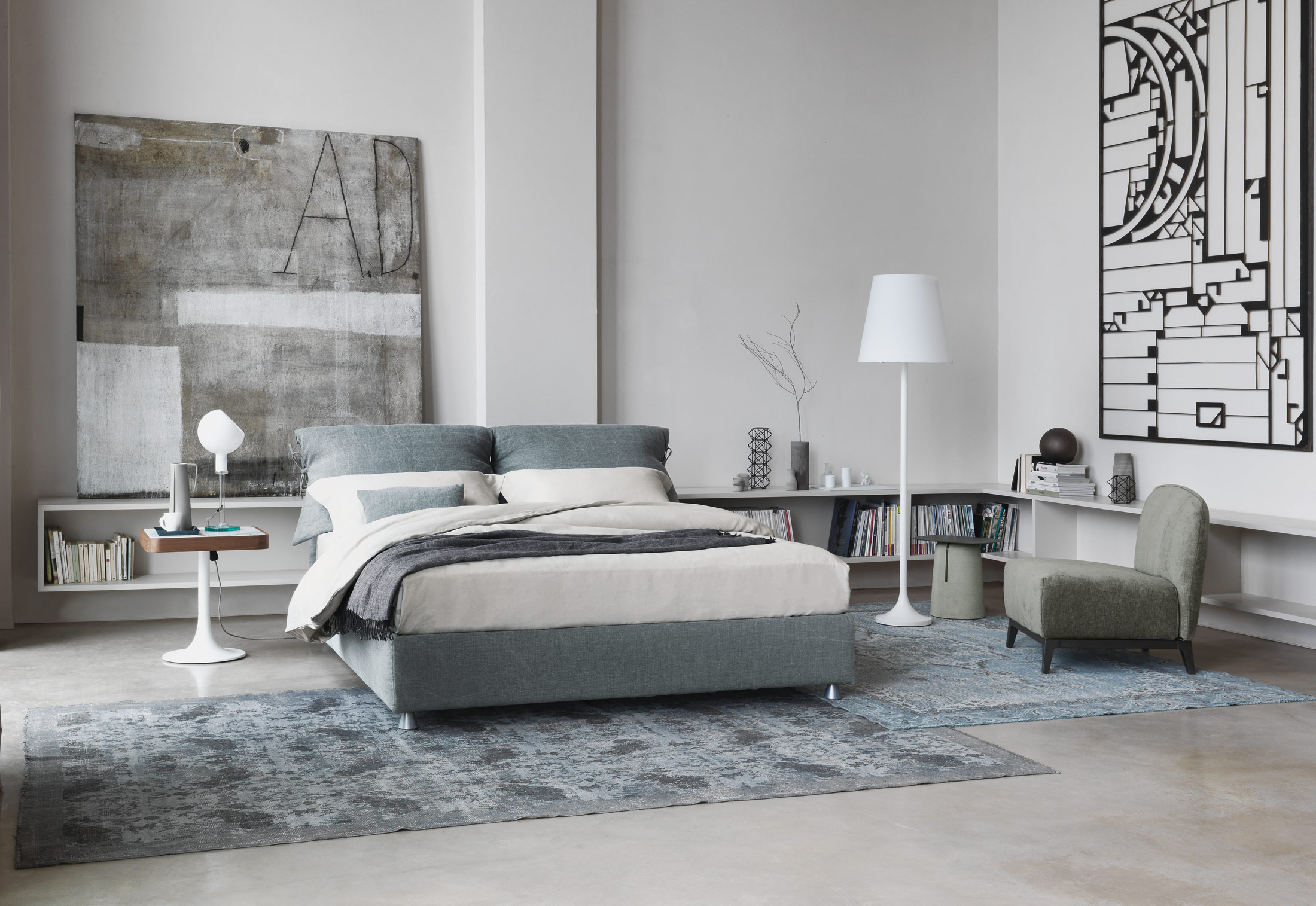 Nathalie double bed by FLOU  STYLEPARK